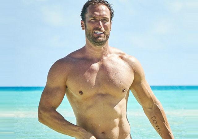 Bastian Yotta, desnudo y enorme en 'Adán y Eva'