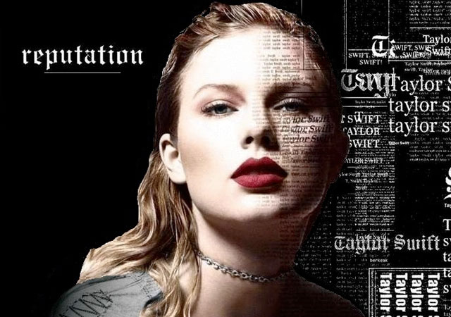 Taylor Swift usa a los... Taylor Swift Reputation