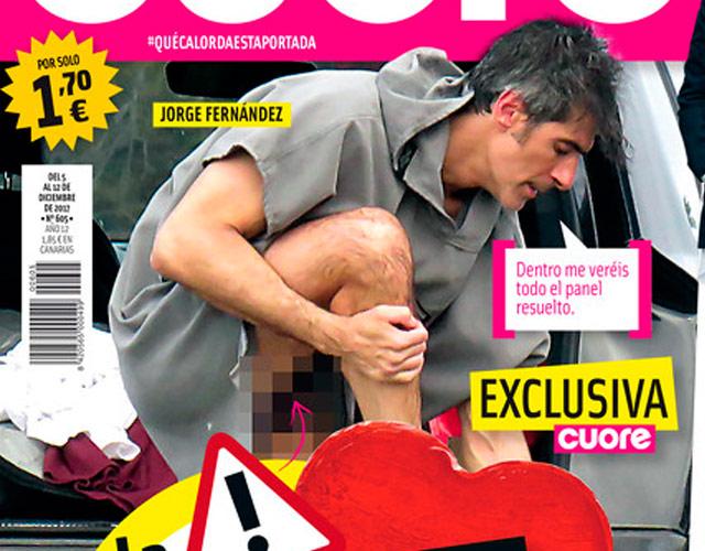El pene de Jorge Fernández desnudo pillado en Cuore
