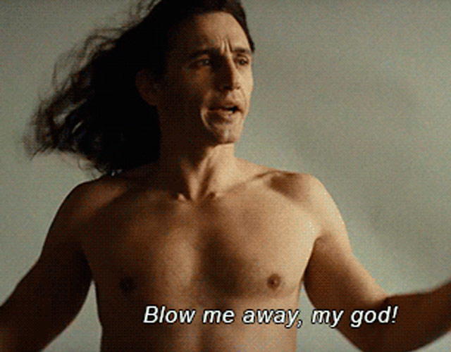 James Franco desnudo en 'The Disaster Artist'