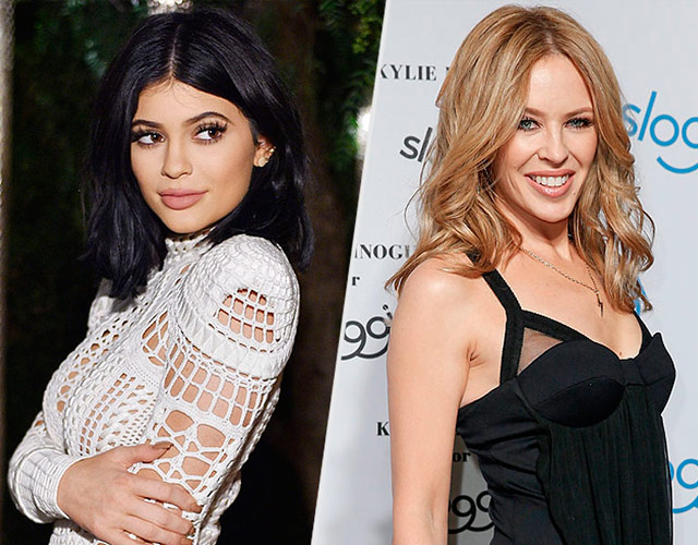 Kylie Minogue habla de Kylie Jenner y su disputa legal