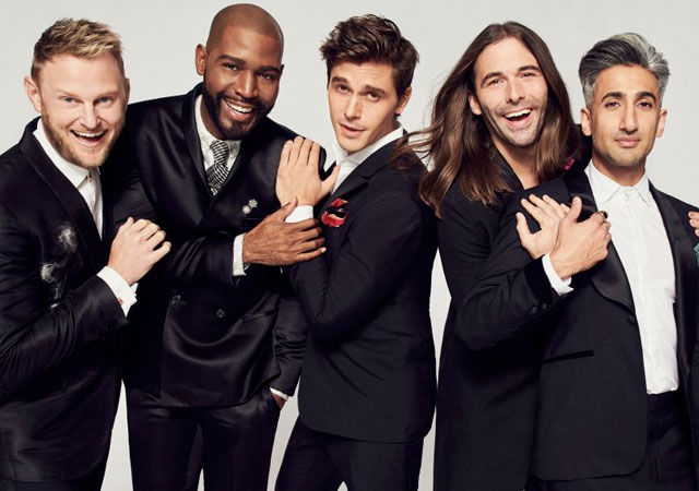 'Queer Eye' se convierte en la serie gay de la temporada