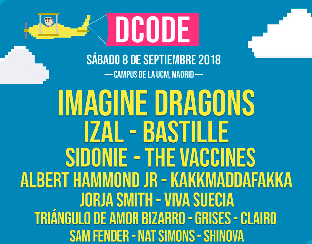 Imagine Dragons, plato fuerte del DCODE 2018