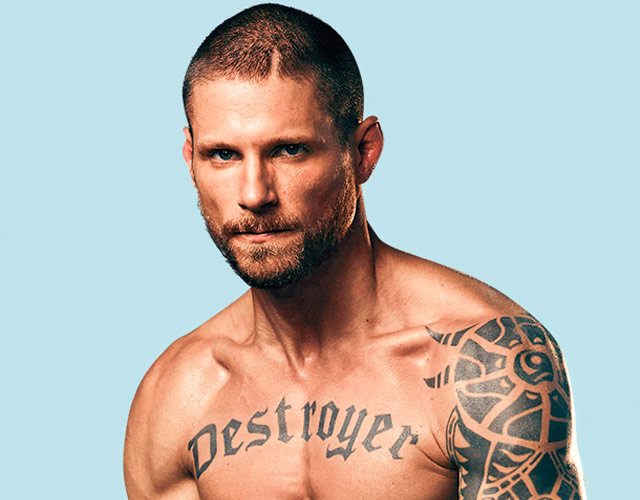 Matt Lauria desnudo, el actor tatuado y destructor