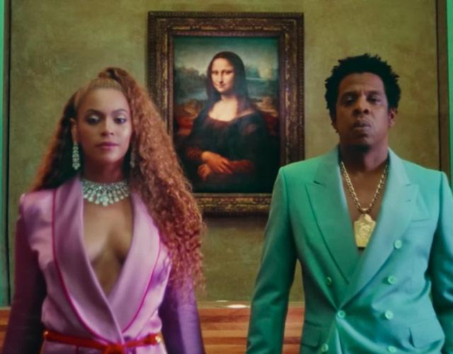 Beyoncé promociona nuevo álbum junto a Jay-Z con poca ropa