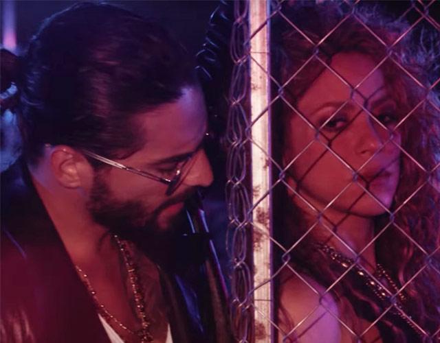 Shakira y Maluma estrenaron el video de su canción Clandestino