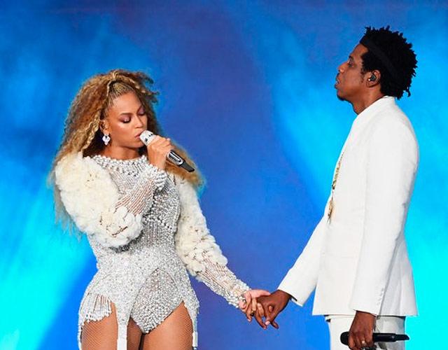 ¡Un fan interrumpe concierto de Beyoncé y Jay-Z!