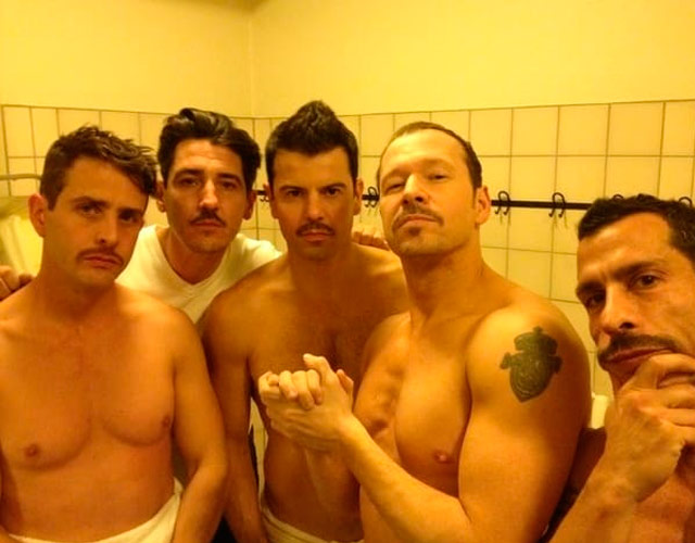 New Kids On The Block desnudos, la primera boyband