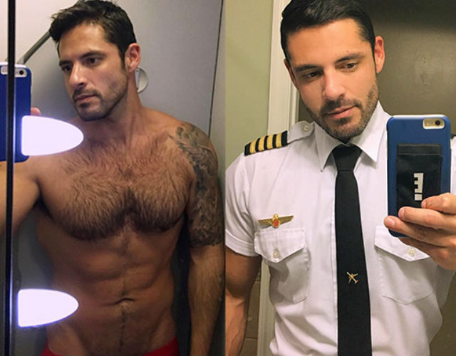 Piloto gay Grindr