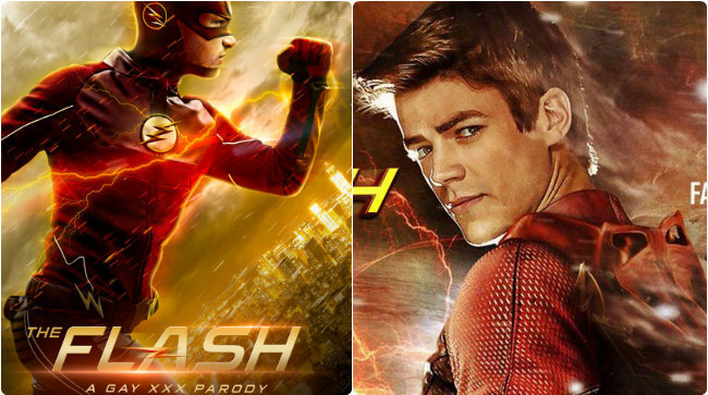 La parodia porno gay de The Flash
