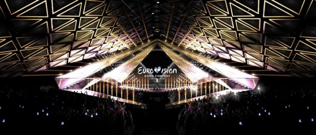 Tel Aviv calling: first image of the set for Eurovision 2019. Photo: Eurovision.tv