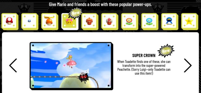 New Super Mario Bros. U Deluxe's bio for the Super Crown bonus item made many fans think Luigi was trans