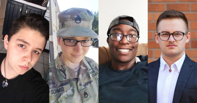 Trump military transgender ban ruling: Four transgender military personnel who are plaintiffs in the case brought before the US Supreme Court
