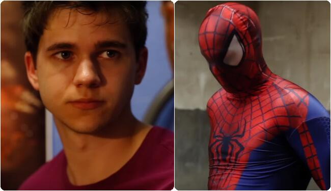 Spiderman Pornos schwul Gute Blas-Jobs Video