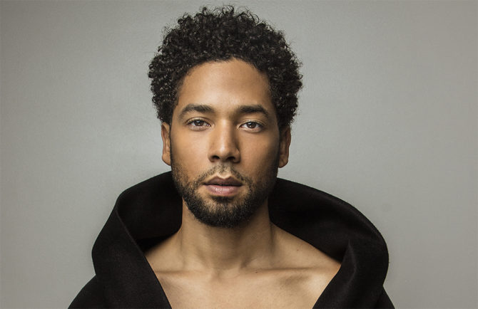 Jussie Smollett, actor gay de 'Empire', víctima de un terrible ataque homófobo