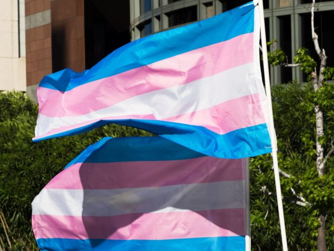 The transgender flag is not among the new emojis
