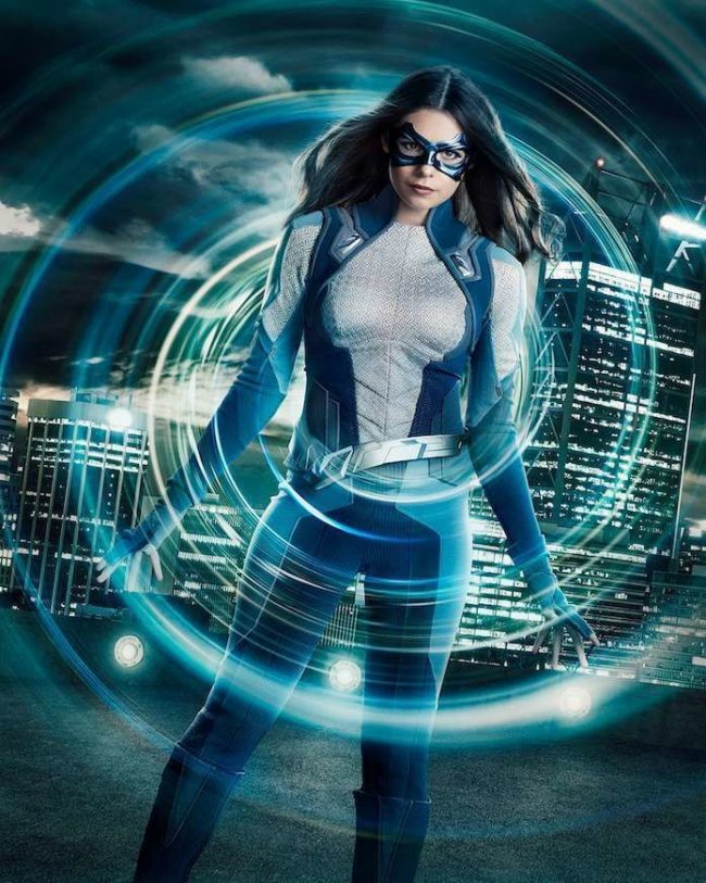 Supergirl star Nicole Maines as transgender superhero Dreamer (The CW)