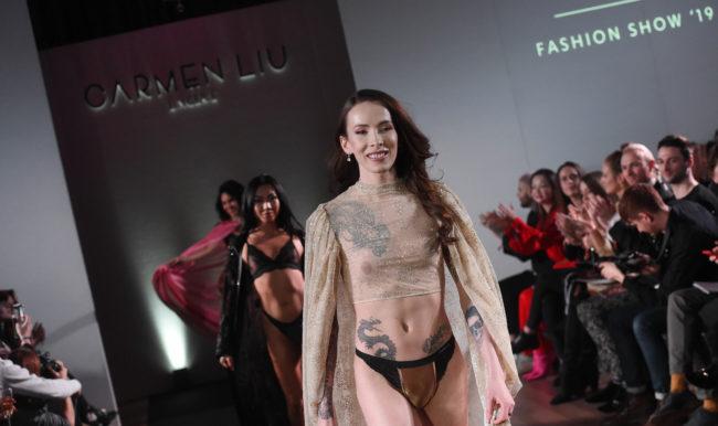 La Diseñadora De Lencería Trans Carmen Liu Estrena Colección