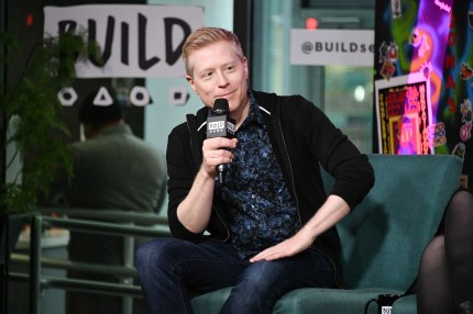 "Anthony Rapp (Lieutenant Paul Stamets) visits Build to discuss ""Star Trek: Discovery"" at Build Studio on January 16, 2019 in New York City."