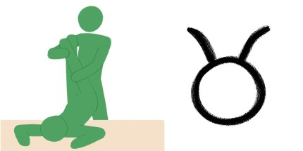 Best sex position for zodiac sign: Taurus.