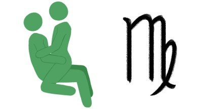 Best sex position for zodiac sign: Virgo.