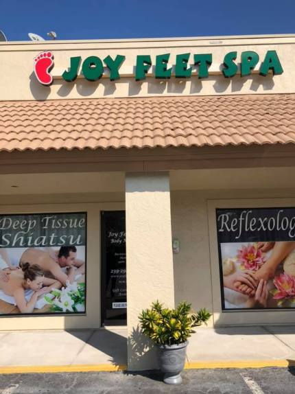 Picture of Joy Feet Spa, who refused a gay couple.
