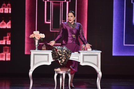 Pose season 2: Patti LuPone performs with the cast of 'War Paint' onstage during the 2017 Tony Awards at Radio City Music Hall on June 11, 2017 in New York City.