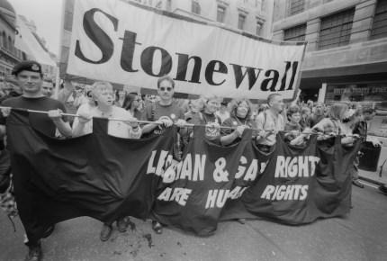 LGBT charities: Stonewall