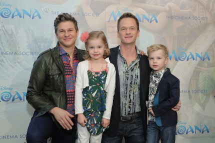Neil Patrick Harris family with husband David Burtka and twins