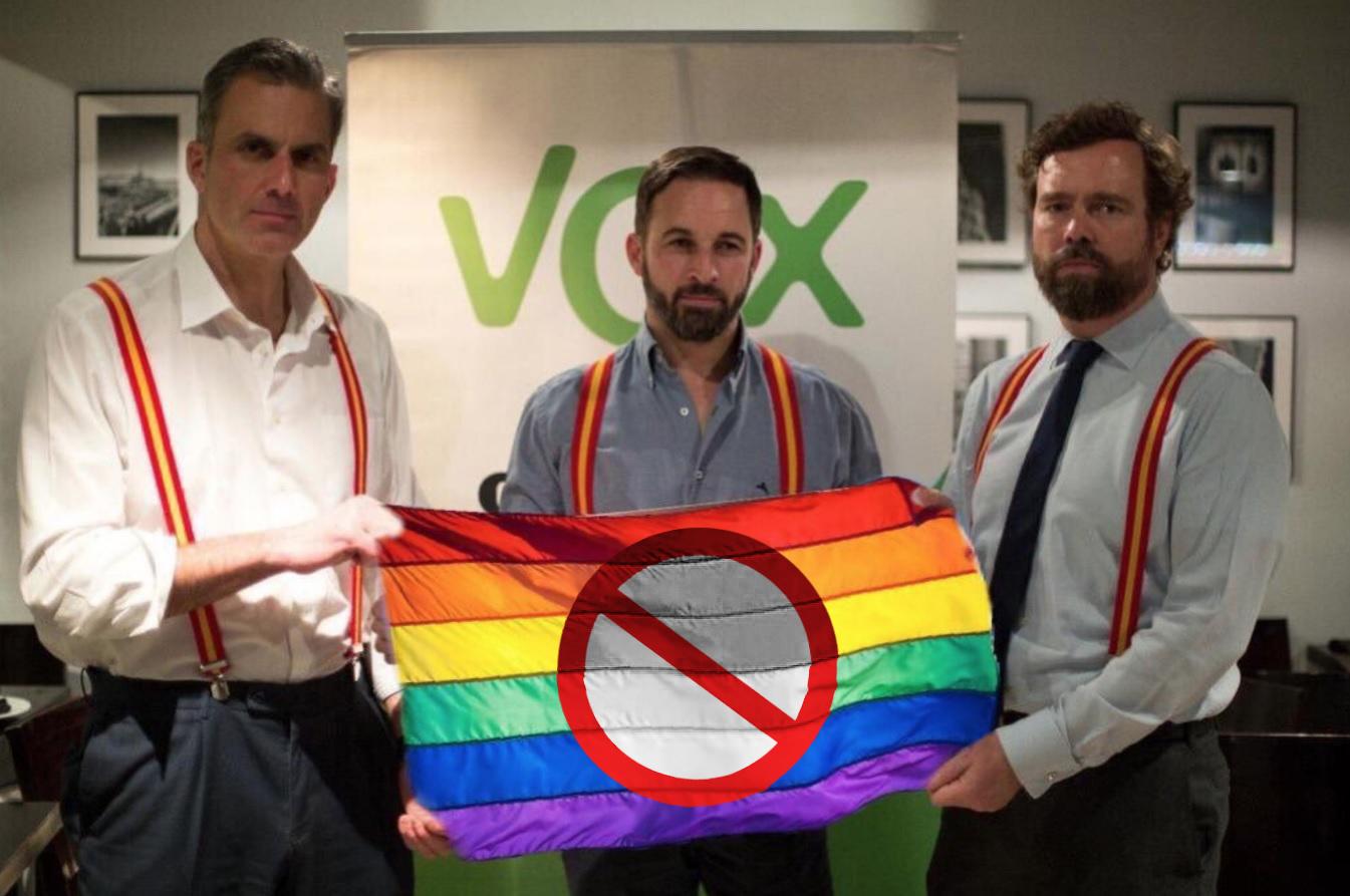Las 7 frases más homófobas de VOX que podrían ser incitación al odio