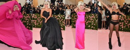 The four outfits Lady Gaga unveiled as she arrived at the 2019 Met Gala