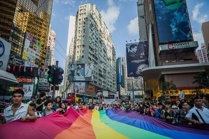 Hong Kong court abolishes four offences that criminalise gay sex