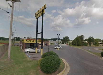 The Waffle House in Southaven, Mississippi