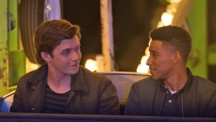 Nick Robinson and Keiynan Lonsdale in Love, Simon