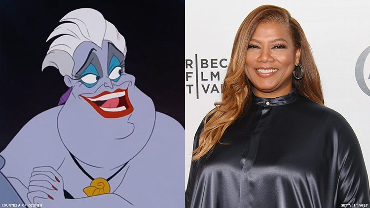 Queen Latifah cast as Ursula in live-action The Little Mermaid TV musical.