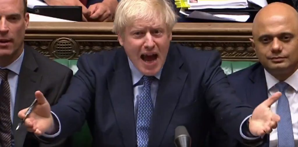 Boris Johnson acusado de