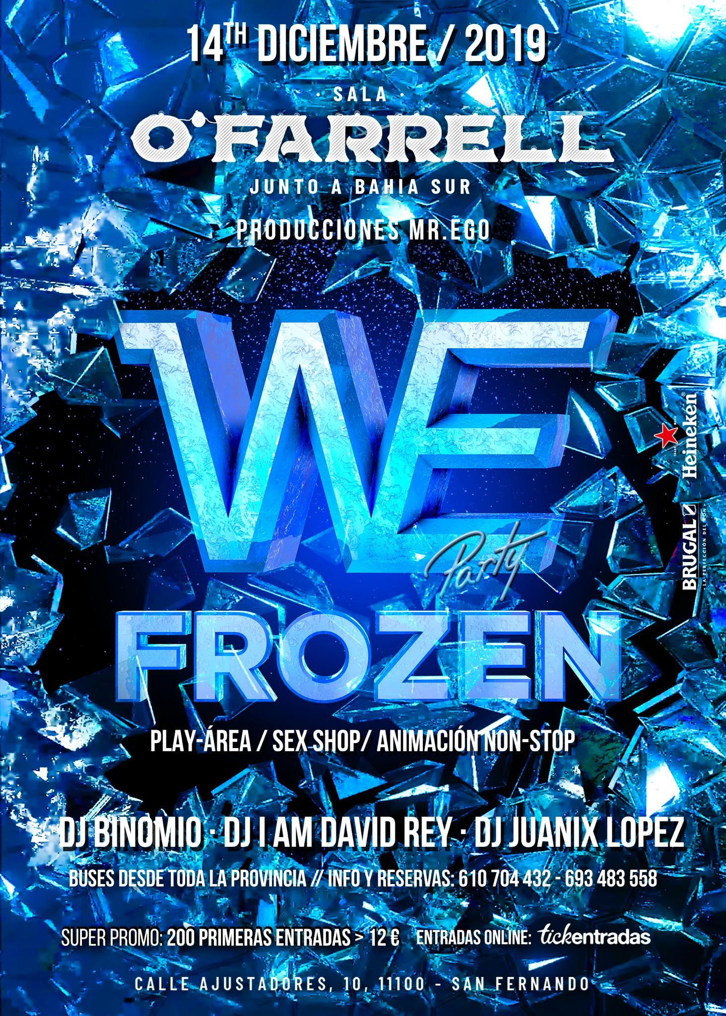 WE Frozen Party
