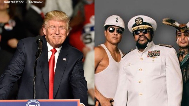Los Village People dejan su música a Trump