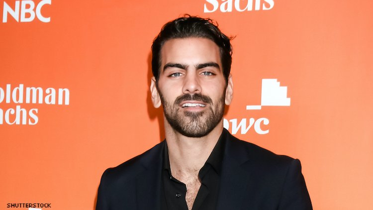 Nyle DiMarco on red carpet