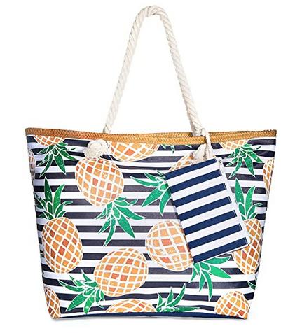 Bolsa de playa con ccremallera