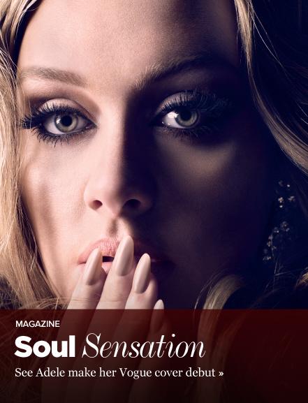 Adele para \'Vogue