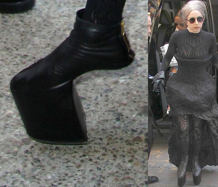 Lady Gaga confiesa que le encanta sentirse alta