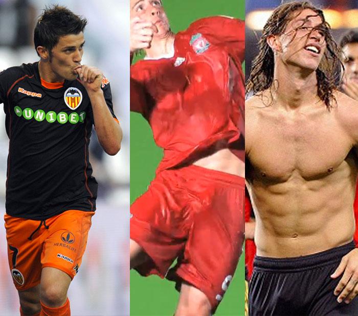 David Villa  Fernando Torres  Sergio Ramos Y Sus  Pa  Eros