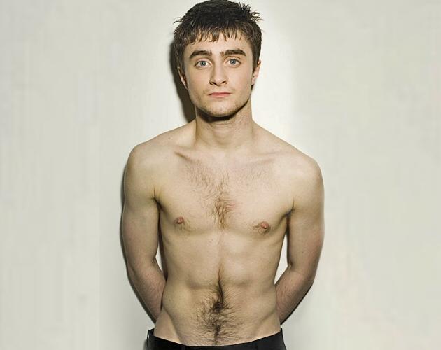 Daniel Radcliffe Harry Potter desnudo en la obra de