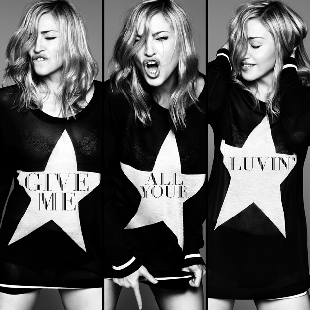 Madonna give me all your luvin cover